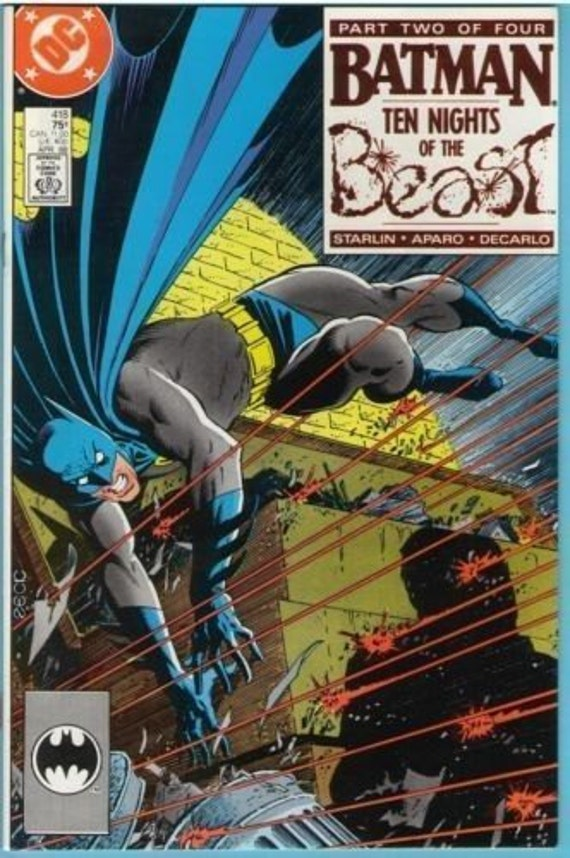 Batman 418 Apr 1988 NM- (9.2)