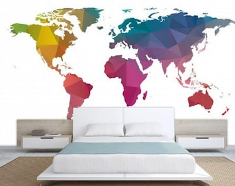 World map texture texture world map wallpaper world map world map texture colorful world map wallpaper world map education map decal world map wall muralmodern world map office world map gumiabroncs