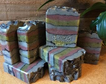 Dead Sea Mud Soap, Patchouli Essential Oil Blend