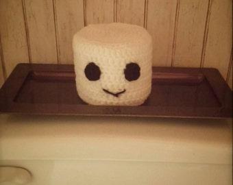 Happy Crochet Toilet Paper Cover