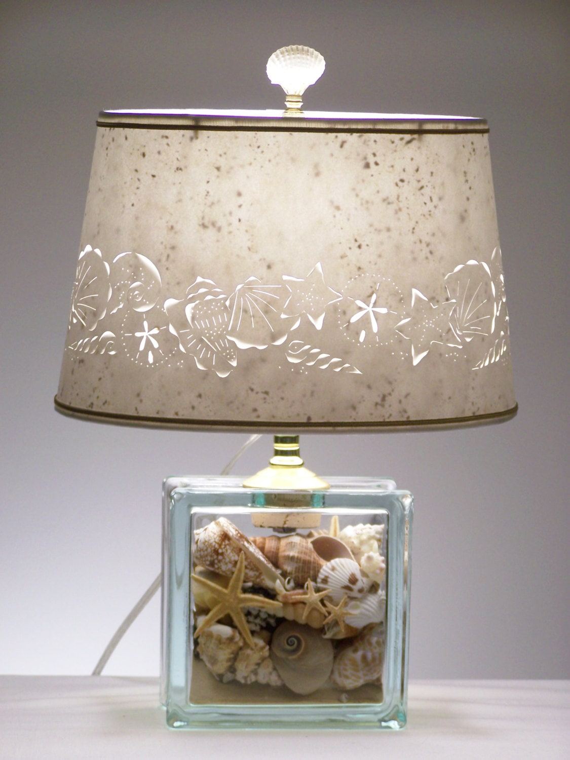 rachelforrest lamp lamps seashell shade s shell lampshade me seashells