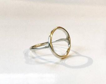 Mina Circle Ring