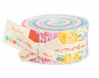 Hugaboo Jelly Roll 2 1/2 Inch Strips from Deb Strain and Moda Fabrics