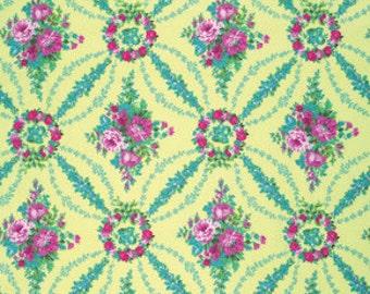 Charlotte Beauty Queen cotton Fabric by Jennifer Paganelli for FreeSpirit Fabrics PWJP088yellow