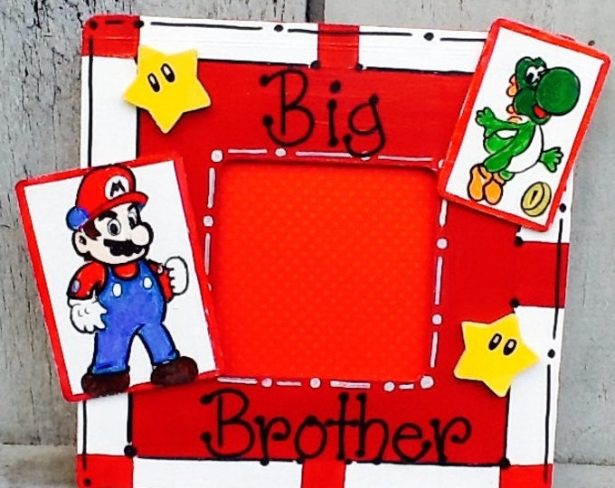 Big brother frame, baby frame, character frame, nursery frames