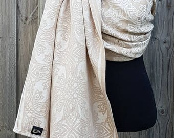 Wrap Conversion ring sling - Baie Trowen Ivory