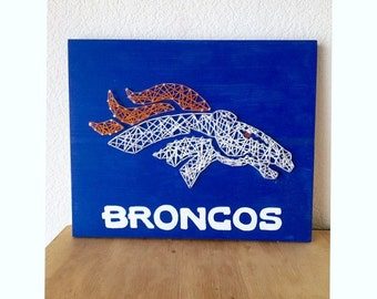 Denver Broncos, Denver Broncos Art, Denver Broncos men, Denver Broncos Baby, Denver Broncos Women, Bronco Baby, String Art, Nail String Art