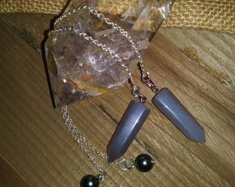 Chalcedony Pillar Pendulum