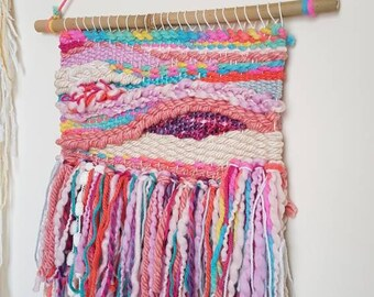 Unicorn woven wall hanging