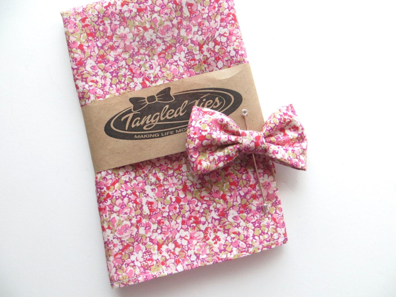 LAPEL PIN - Pink Floral Lapel Pin, Wedding Lapel Pin, Bow Tie Lapel ...