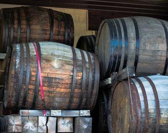 Wine Barrel Decor, Wine Barrel, Wine Barrel Art, Wine Wall Decor, Photo