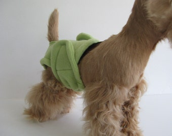 POOCHIE PANTZ lime green female dog diaper, custom made, all sizes