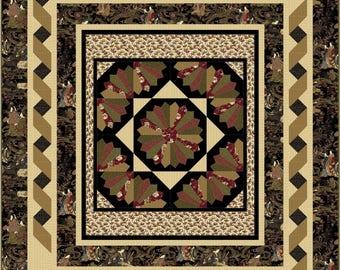 Fan Fare Multi sized pattern. SPECIAL PRICE. Dresden Plate variation