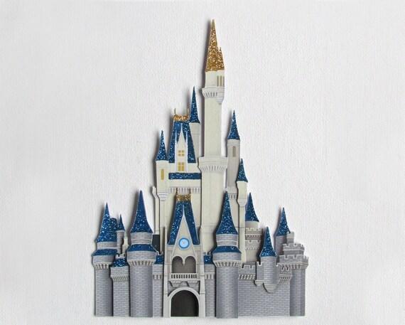 Disney Castle Cinderella S Castle Handmade Scrapbook