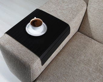Free Shipping NOW! Sofa Arm Tray, Sofa Tray Table, Coffee Table, Sofa Table, Wood Tray, Sofa Arm Table, Gift, Home&Living, SSYH3040FF