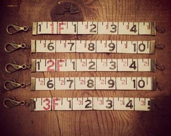 Vintage Measuring Tape Bracelet