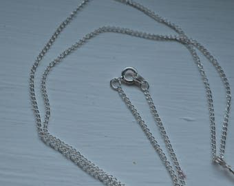 Silver Plated Chain For Any Necklace