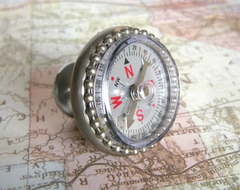 Compass Drawer Pull or Furniture Knob