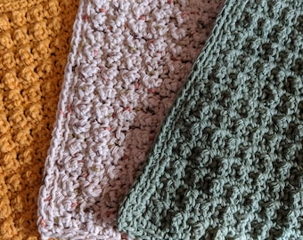 Cotton Washcloths (Set of 3)