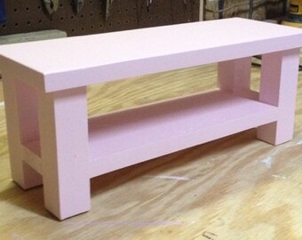 Wooden Doll Coffee Table