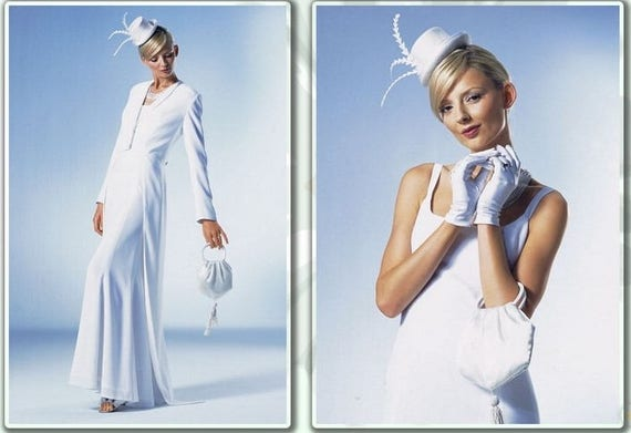 BURDA-Magazin 3/2006 März Englisch Nähen Muster Hochzeits