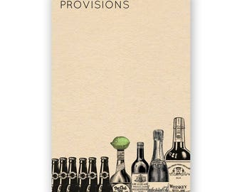 Provisions Notepad - Humor - Gift - Stocking Stuffer