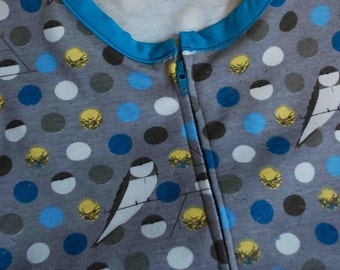 Custom ORGANIC cotton knit sleep sack