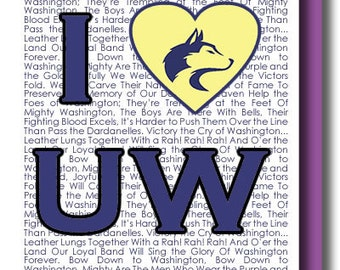 I (heart) University of Washington