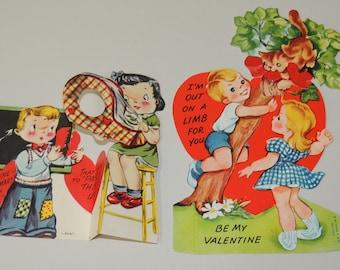1950s Two Valentines