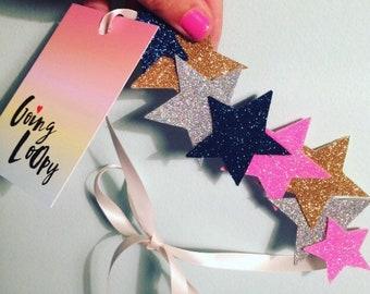 Festival glitter headband, hair accessories ,sparkly