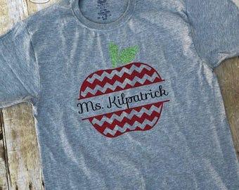 Teacher Appreciation Gift Teacher Gift Teacher Shirt Glitter