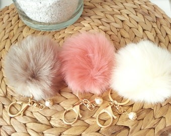 Tassels in fake fur for your filofax, your fauxdori, your bag or your key!