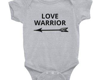 LOVE WARRIOR Infant Bodysuit