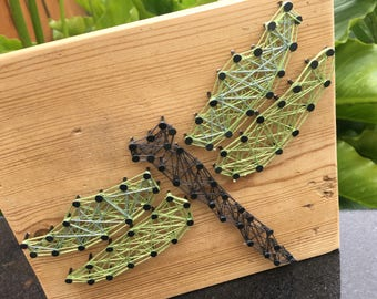 Dragonfly String Art, Home Decor, Gifts