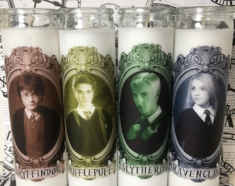 Harry Potter Houses Set of Candles