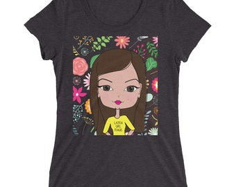Latina Girl Magic Ladies' short sleeve t-shirt