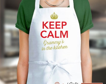 Grammy Gift, Birthday Gift For Grammy! Funny Apron, Coolest Grammy, Cooking Gift, Awesome Grammy, Personalized, Present For Grammy