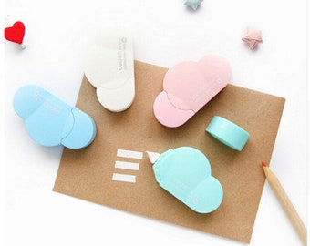 Cloud Correction Tape School Supplies