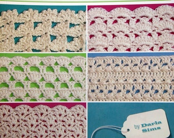 Instant download pattern for chunky crochet shell stitch pillow 280 crochet shell patterns by darla sims paperback crochet pattern book 2006 fandeluxe Gallery