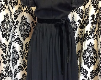 Marvelous Black Party Dress