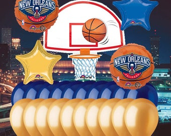 New Orleans Pelicans 25 Piece Balloon Set