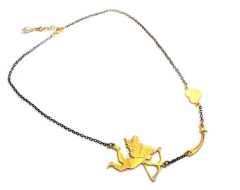 Cupid in action Necklace