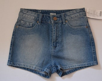 Vintage bdg high waisted jean shorts tags still attached size 0