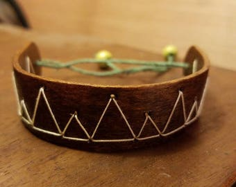 Wooden Mountain Popsicle Bracelet