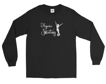 Figure Skating Long Sleeve T-Shirt for Figure Skaters