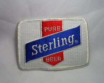 Pure Sterling Beer Patch