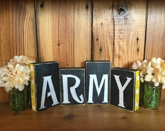 Patriotic Army Block Set