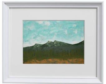 11x14 Mountain Landscape - Art Print