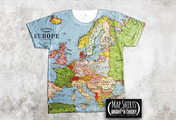 France as a Boat T Shirt Vintage Map of 1796 Print French Revolution  Historical Map Antique 86d790d596fbb
