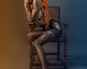 PRINT: Shelly d'Inferno by Clinton Lofthouse, high quality matte A3 or A4 photo poster